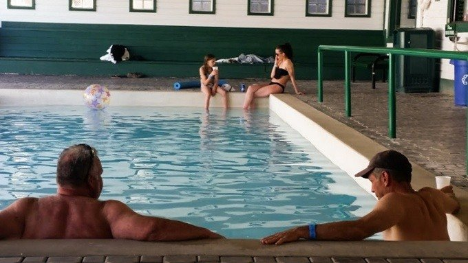 Chico Hot Springs Pool