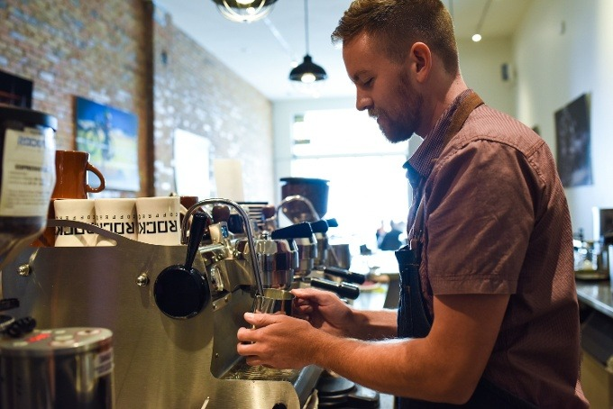 Coffee Shop Employee Mobile Scheduling App