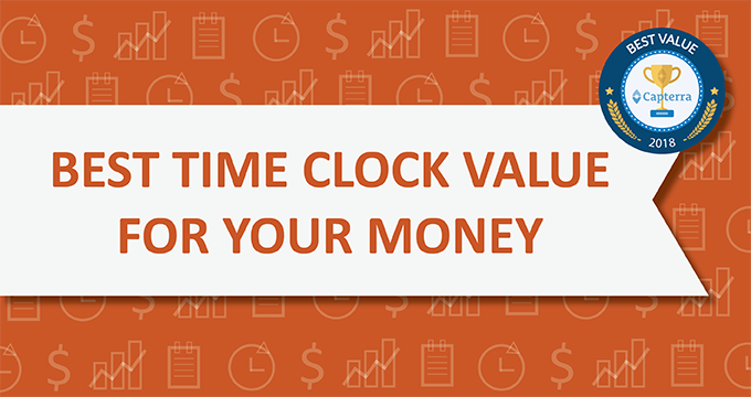 Capterra awarded Orbital Shift with the 'Best Value for Money' badge for Time Clock Software