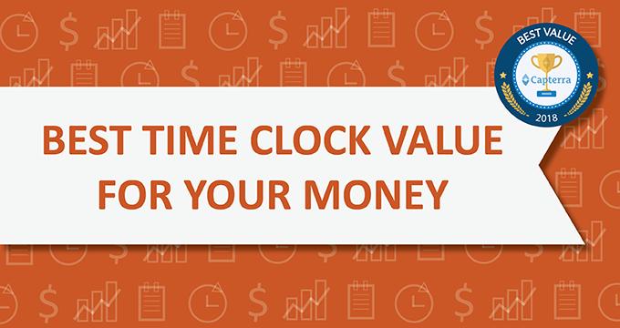Orbital Shift wins 'Best Value for Money' award in Capterra's Time Clock Software category