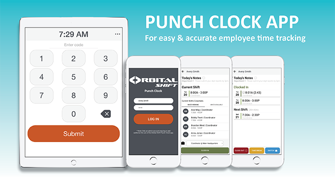 Improve labor productivity with the employee punch clock app