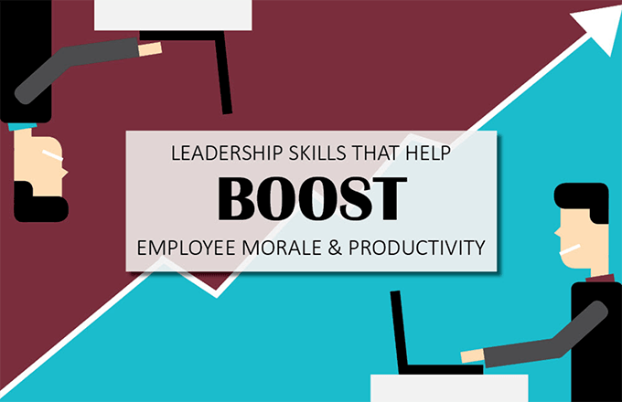 How to boost employee morale and productivity