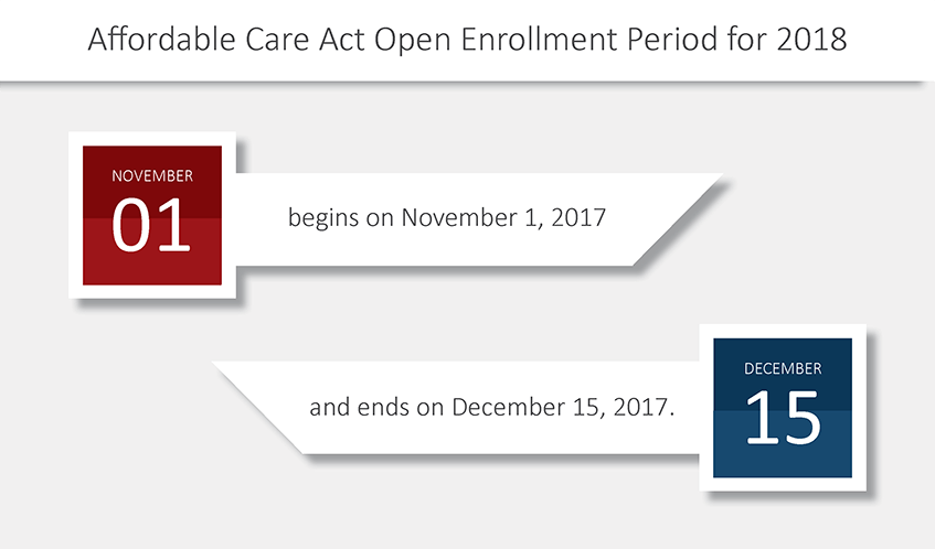 ACA 2018 open enrollment deadline