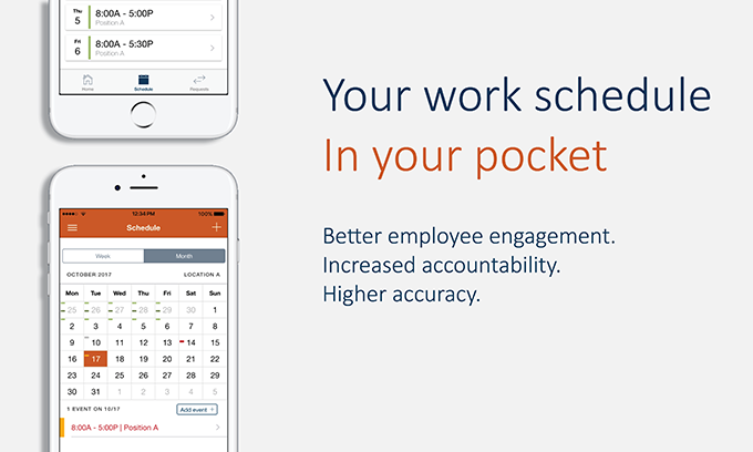 Employee Scheduling Mobile Apps