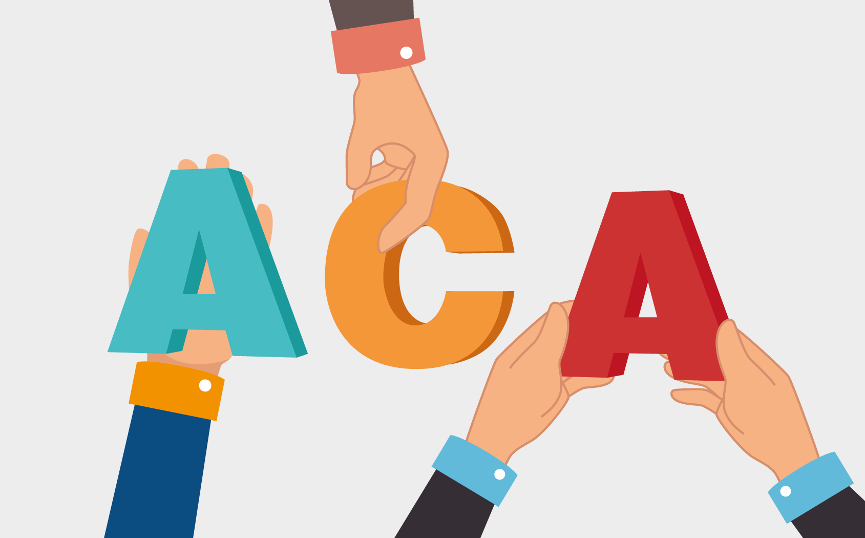 ACA compliance requires multiple departments to contribute.