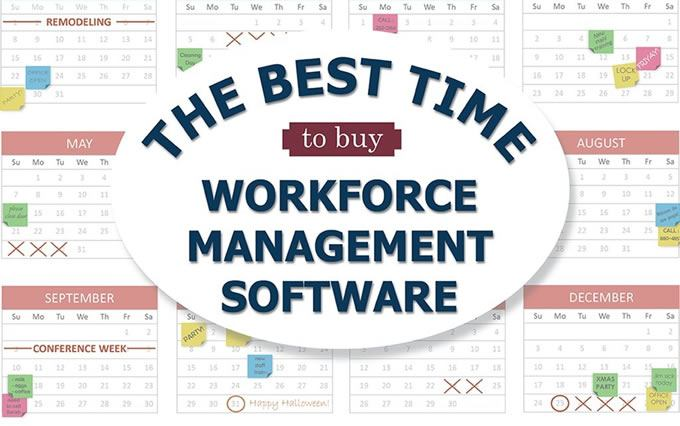The best time to buy workforce management software